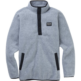 Burton Hearth Pull En Polaire Homme, gray heather